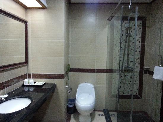 Xin Yin Bai Business Hotel: 卫生间