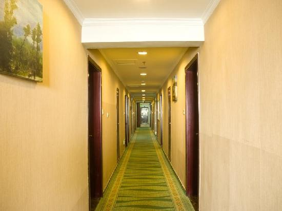 GreenTree Inn Nanchang County Nanlian Road Business Hotel: 走廊