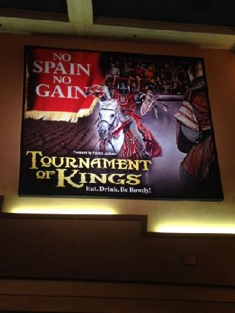 Tournament of Kings: 很精彩的show!