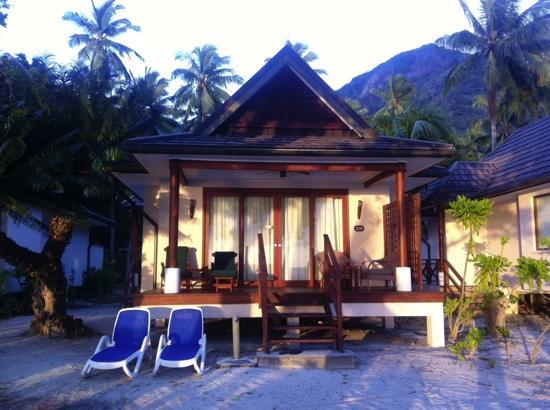 Hilton Seychelles Labriz Resort & Spa : 海边别墅