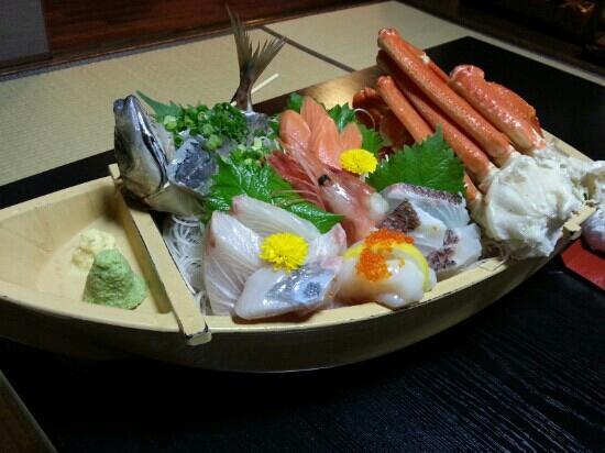 Okyuan : 晚餐的刺身