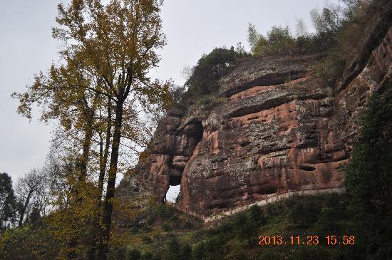 Xiuning County, China: 象鼻山