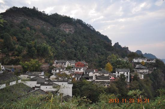 Xiuning County, China: 月华街