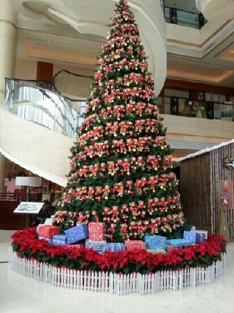 Sheraton Hohhot Hotel : 酒店内的圣诞树