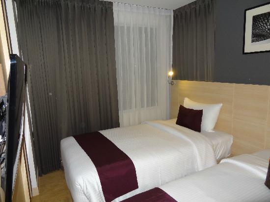 Arize Hotel Sukhumvit: 单人床
