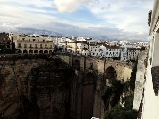 Hotel Montelirio: 窗外