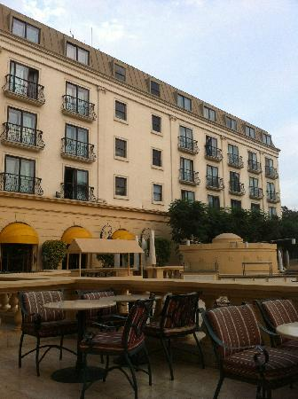 Concorde El Salam Hotel Cairo by Royal Tulip: 酒店侧楼