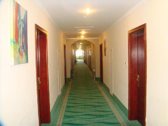 GreenTree Inn Wuxi Qianqiao Express Hotel: 走廊
