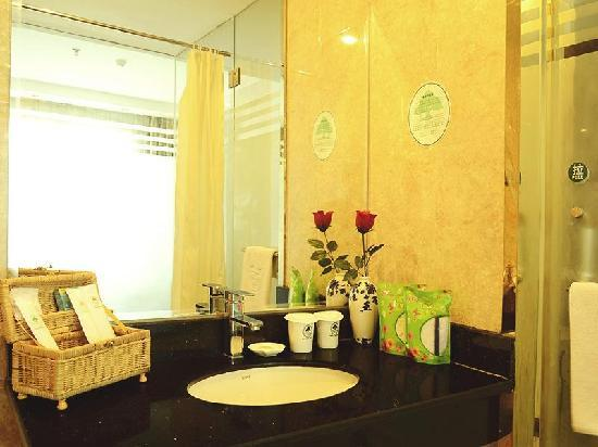 GreenTree Inn Jingdezhen Square North Road Express Hotel: 浴室