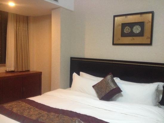 Shanghai Ever Sunshine Hotel: 房间是复式的 卧室在二楼