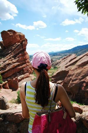 Red Rocks Park and Amphitheatre : Red Rocks看风景