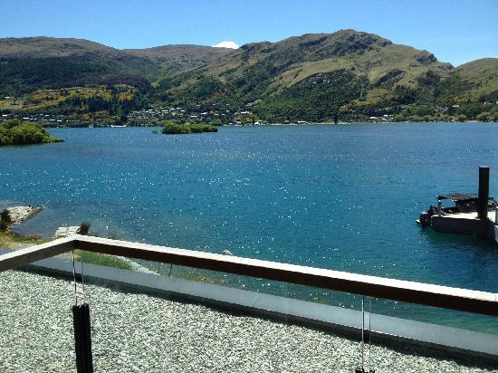 Hilton Queenstown Resort & Spa: 房间窗外景色