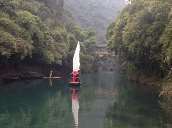 Sanxia Family Scenic Resort : 龙进溪