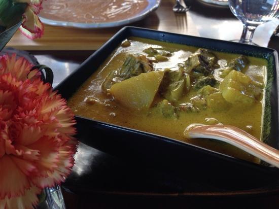 HongShuLin DuJia Hotel Thai Restaurant : 最爱咖喱