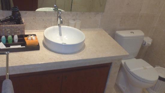 Sahaja Sawah Resort: 这是厕所,没有浴缸!