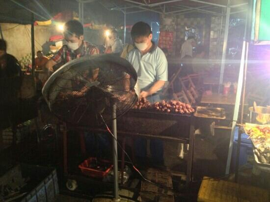 Nanning Zhongshan Snack Street: 馋
