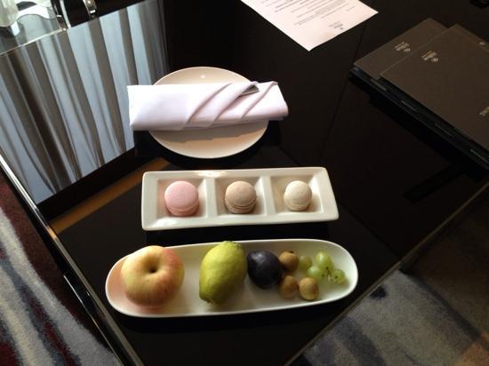 Hilton Guangzhou Tianhe: 酒店欢迎水果