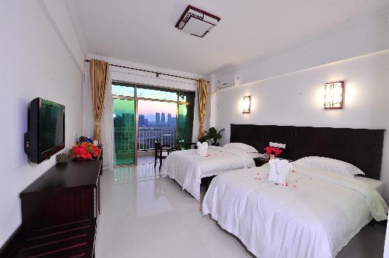 Jindu Seaview Hotel: 豪华丽景双人房