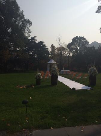 Rujin Hotel Taiyuan Villa: 花园