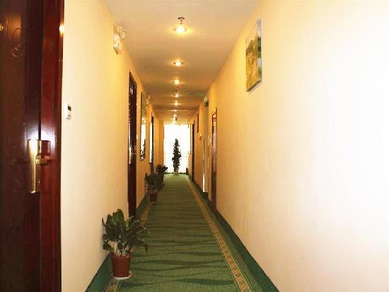 GreenTree Inn Xuyi Huaxia Business Hotel : 走廊