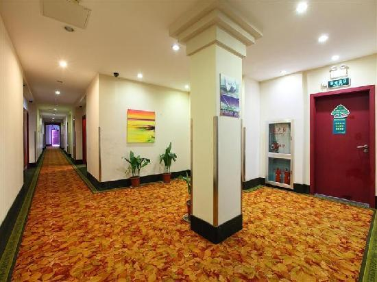 GreenTree Inn Shanghai Jiangpu Business Hotel: 走廊