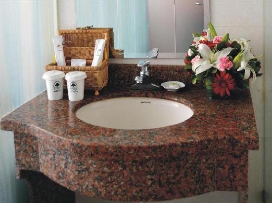 GreenTree Alliance Shanghai Fengzhuang Hotel : 浴室