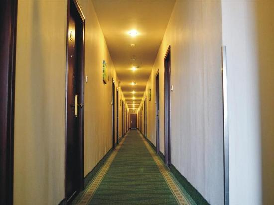 GreenTree Alliance Shanghai Fengzhuang Hotel : 走廊