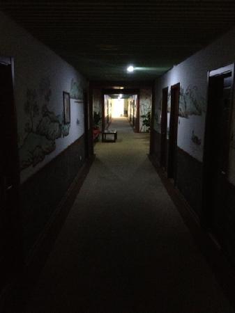 Yalin Business Hotel: 四楼长廊