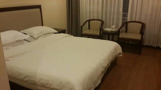 Tianfu Lidu Hotel Caotang : 天府丽都酒店大床房