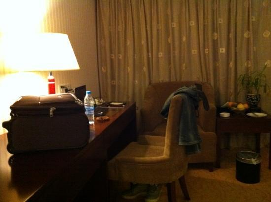 Guizhou Park Hotel: 舒适的工作台,请忽略散乱