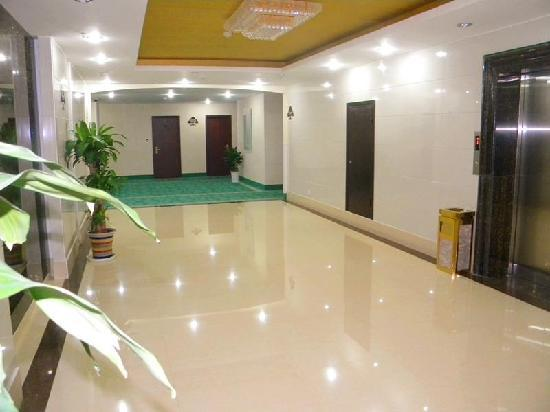 GreenTree Inn Huaihai East Jiankang Road Business Hotel : 电梯间