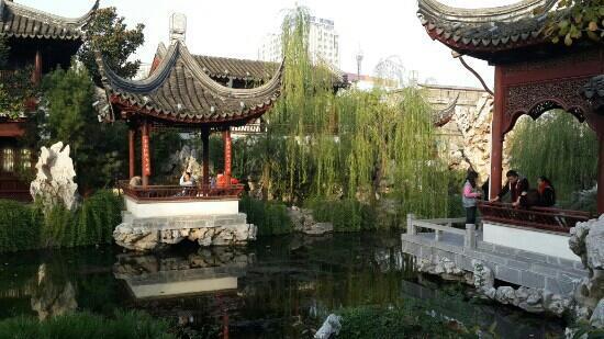 Zhanyuan Garden : 瞻园内景