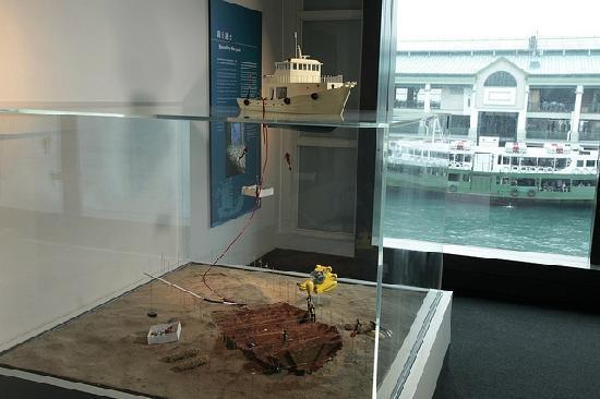 Hong Kong Maritime Museum: 做的精致