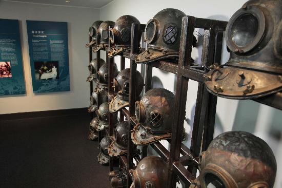 Hong Kong Maritime Museum: 潜水头盔
