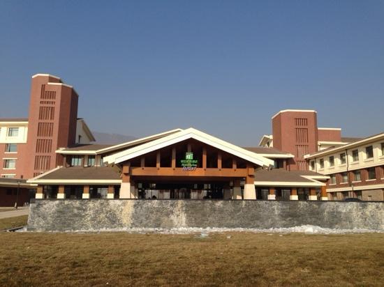 Holiday Inn Resort Beijing Yanqing : 门口