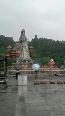 Panyu Nansha Tianhou Palace: 圣女像