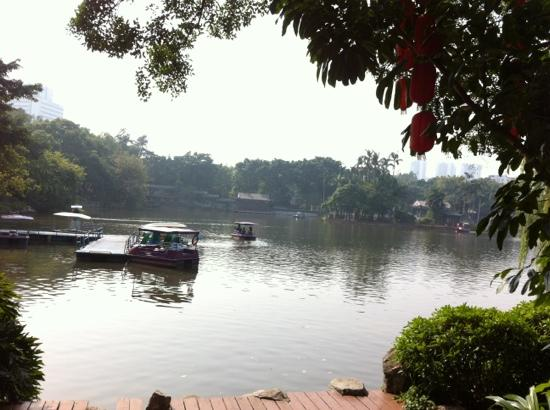 Liwan Lake Park: 荔湾湖