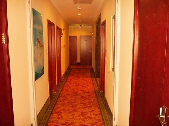 GreenTree Inn Shanghai Zhangjiang Sunqiao Road Shell Hotel: 走廊