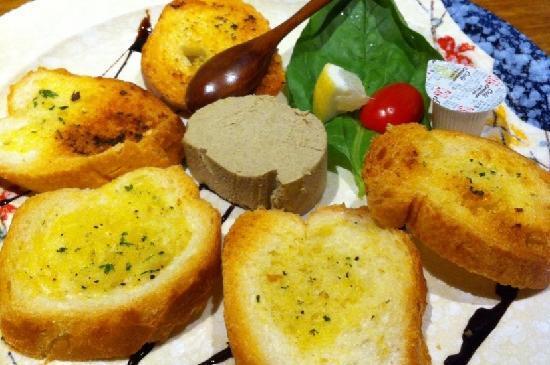 JP French Restaurant : 香蒜吐司