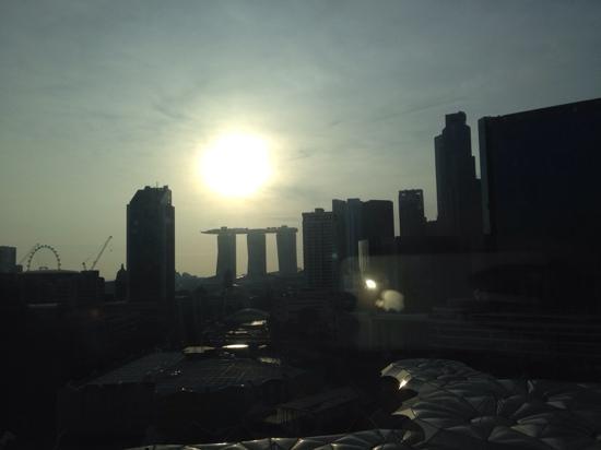 Novotel Singapore Clarke Quay: 窗外