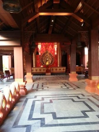 InterContinental Xishuangbanna Resort : 大堂走廊