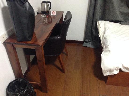 Jingdezhen International Youth Hostel : 很失望的标间,最爱的青年旅舍这次严重伤到我了!