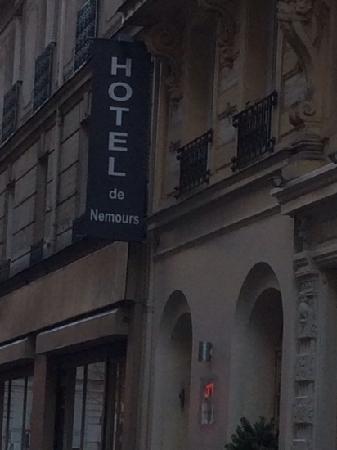 Hotel Nemours : 酒店外观