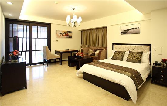 Lejiaxuan All Suites Service Apartment Qingdao Aofan Zhongxin: 怡景轩一角