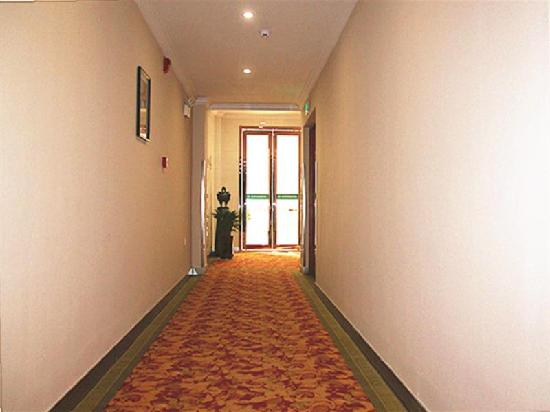 GreenTree Inn Yancheng Dongtai Wanghai West Road Shell Hotel: 走廊