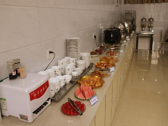 GreenTree Inn Yancheng Dongtai Wanghai West Road Shell Hotel: 早餐