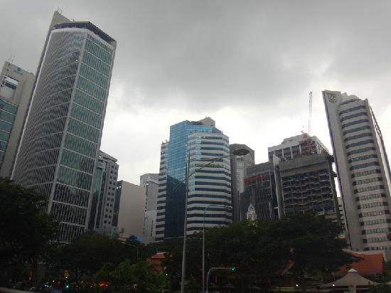Central Business District: 高楼大厦