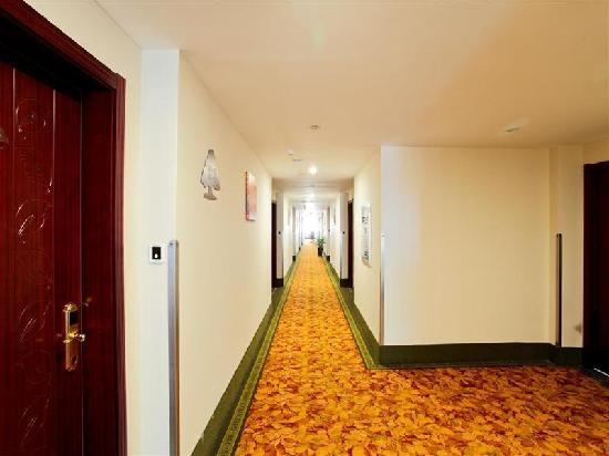 GreenTree Inn Hefei Economic Development Zone Convention and Exhibition Center Business Hotel: 走廊