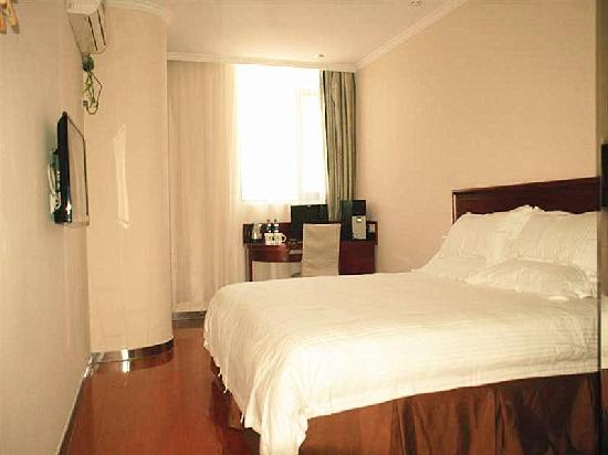 GreenTree Inn Hefei Railway Station Qinggong Mall Express Hotel: 客房