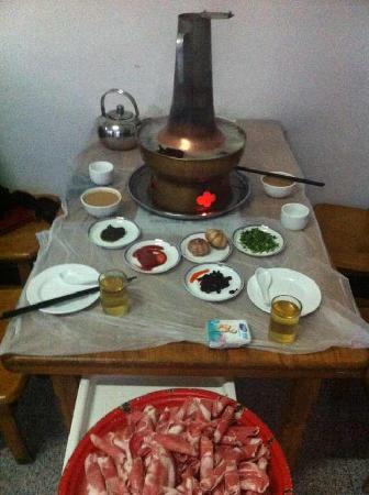 Hotpot DianFan DingDing Hong (JinShui)